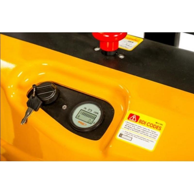 Wózek paletowy elektryczny 1,2T 2,5M WS