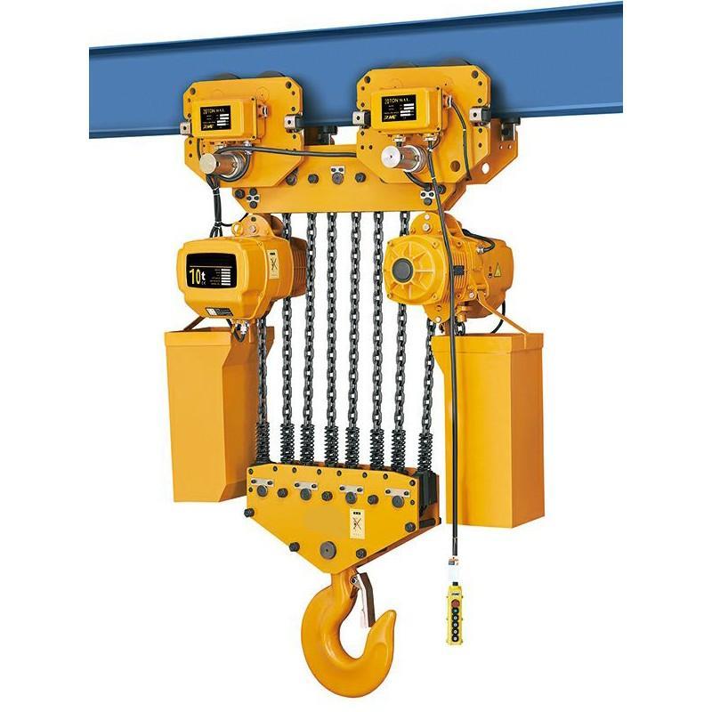 Wciągarka elektryczna z wózkiem HHBD 10T 12M 380V