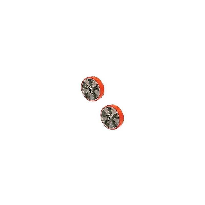 Koło poliuretanowe z łożyskiem 200* 50mm