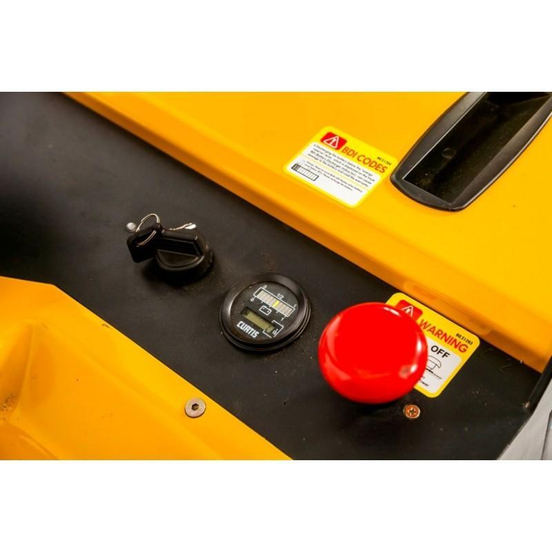 Wózek paletowy elektryczny z platformą ES 1.5T 5,5 M