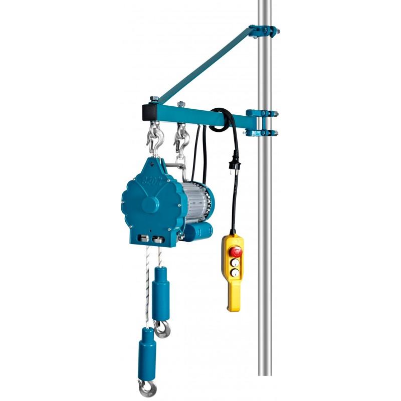 Wciągnik linowy elektryczny  BLND-YT-HPE90,  90kg,   850W,   lina 20m