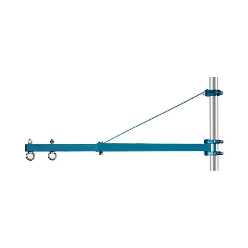 Ramię obrotowe do wciągarek promień 1100 mm, 500 kg
