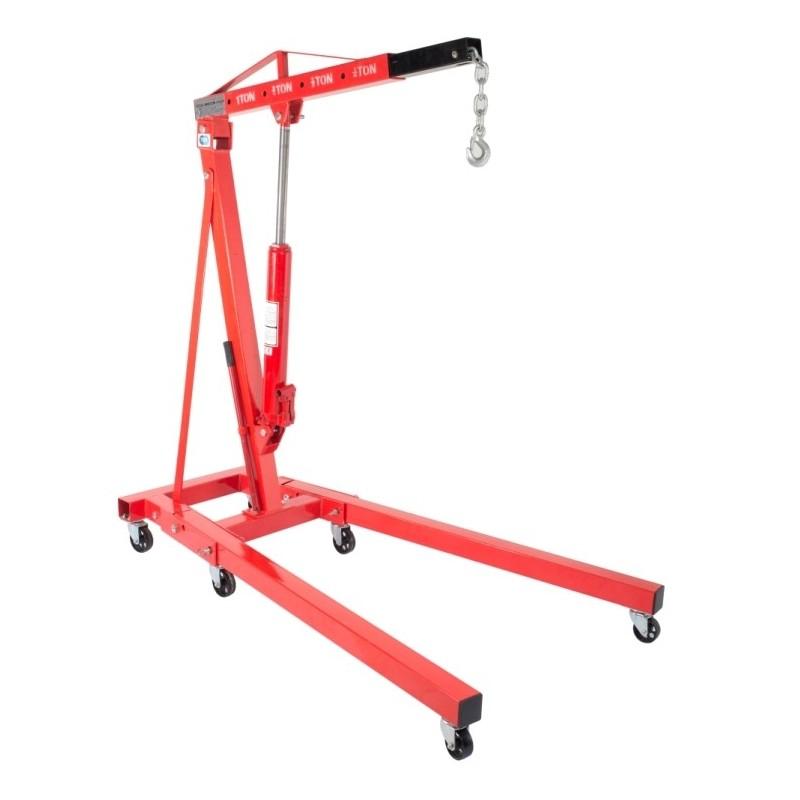 Żuraw warsztatowy przejezdny hydrauliczny TL1001-2, 2T