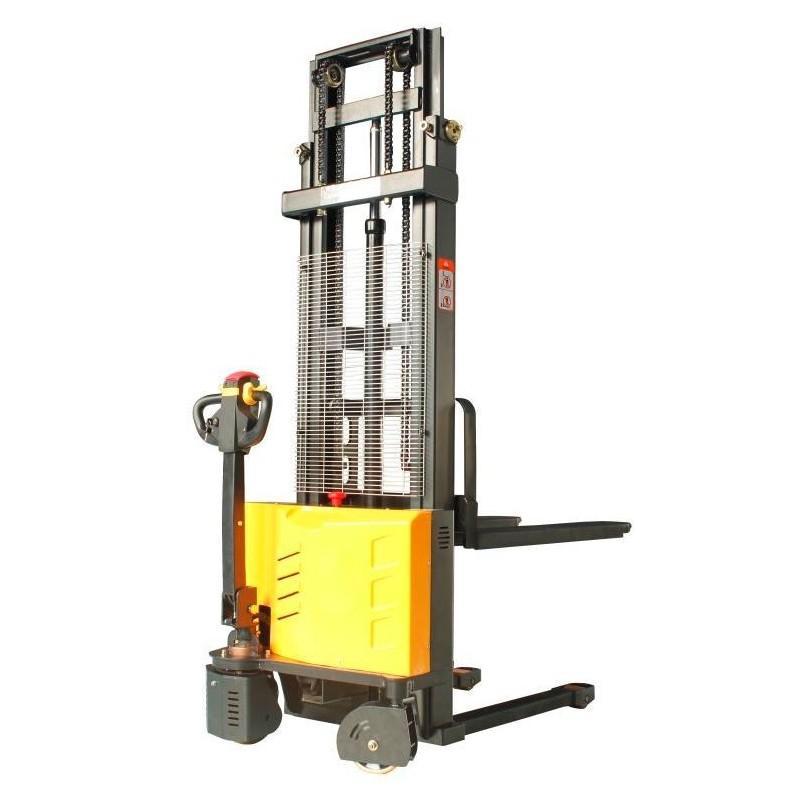 Wózek paletowy elektryczny 1T 1,6M  PWS10S1600