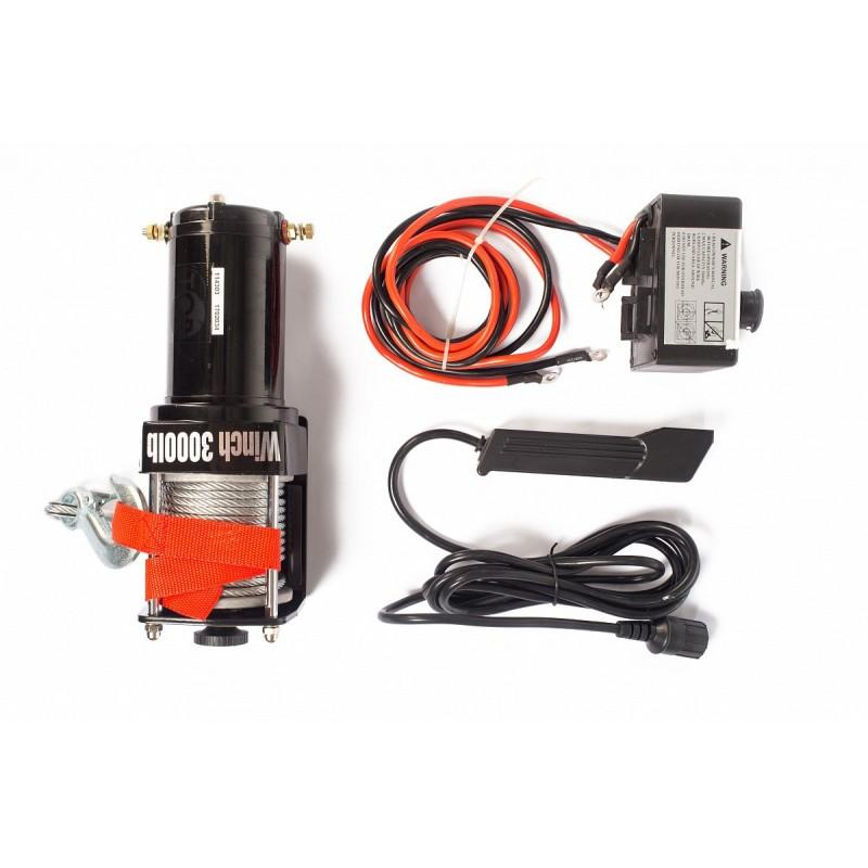 Wciągarka elektryczna samochodowa 1,4T P3000-1A,12V
