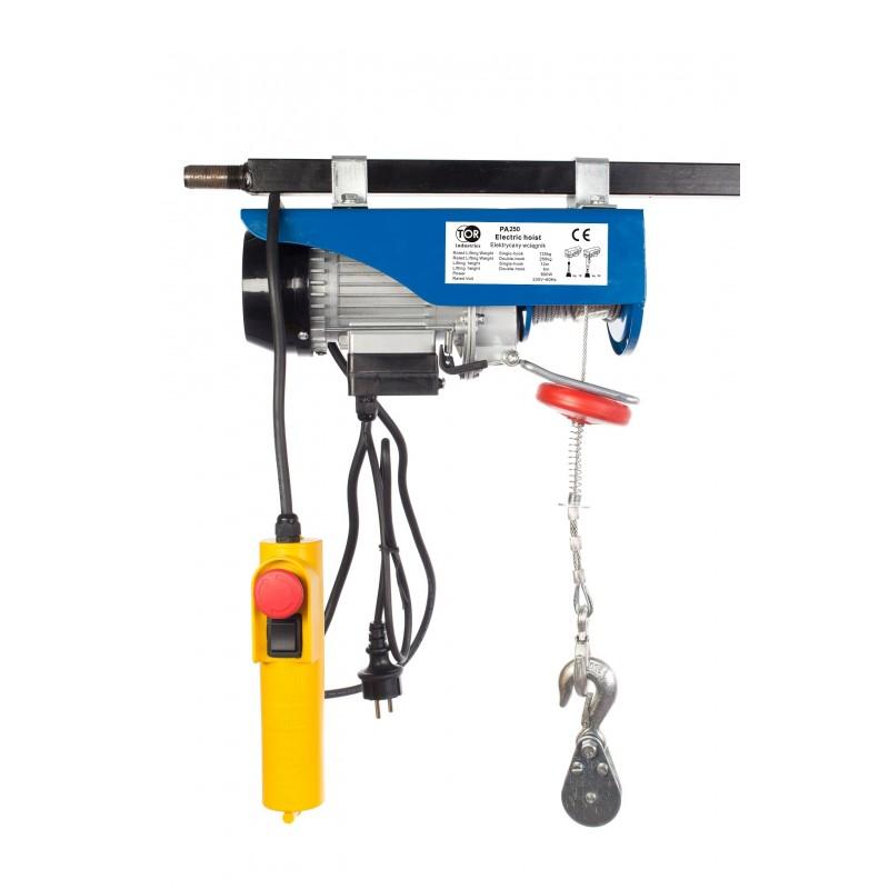 Wciągarka elektryczna PA 250 / 500 KG 12 / 6 M