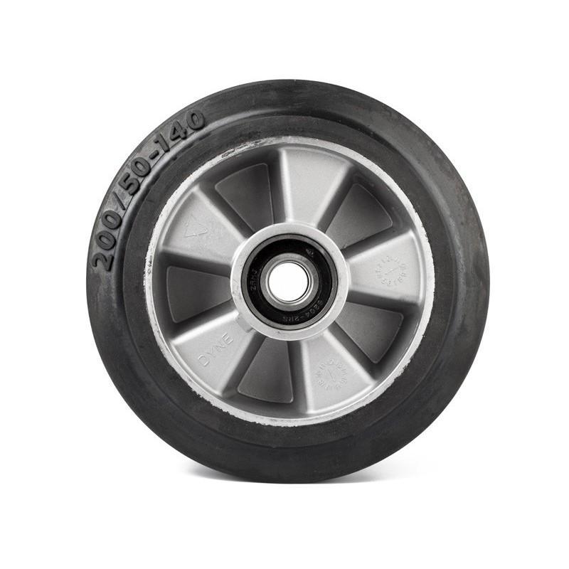 Koło gumowe z łożyskiem 200 * 50mm